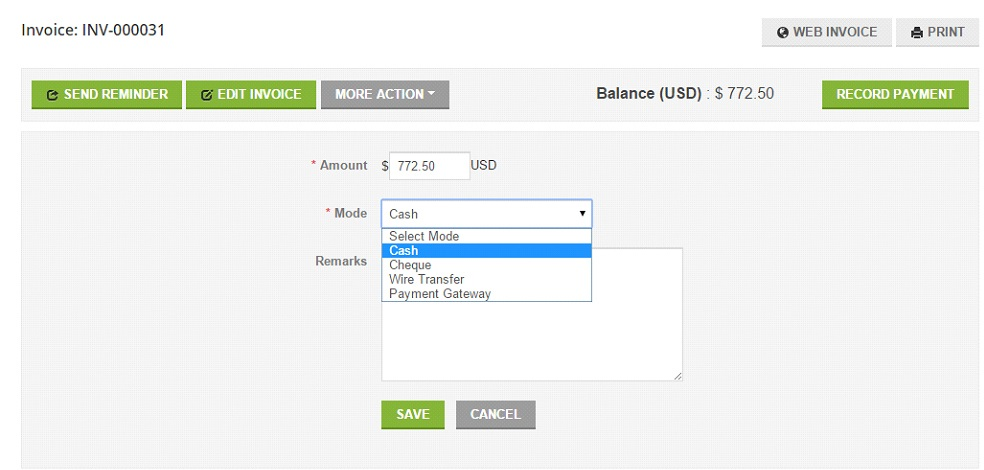Online Invoicing Is Made Simple And Faster With Minterapp - Pay via invoice