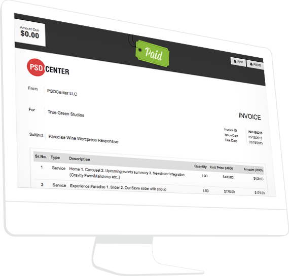 how to create online invoices