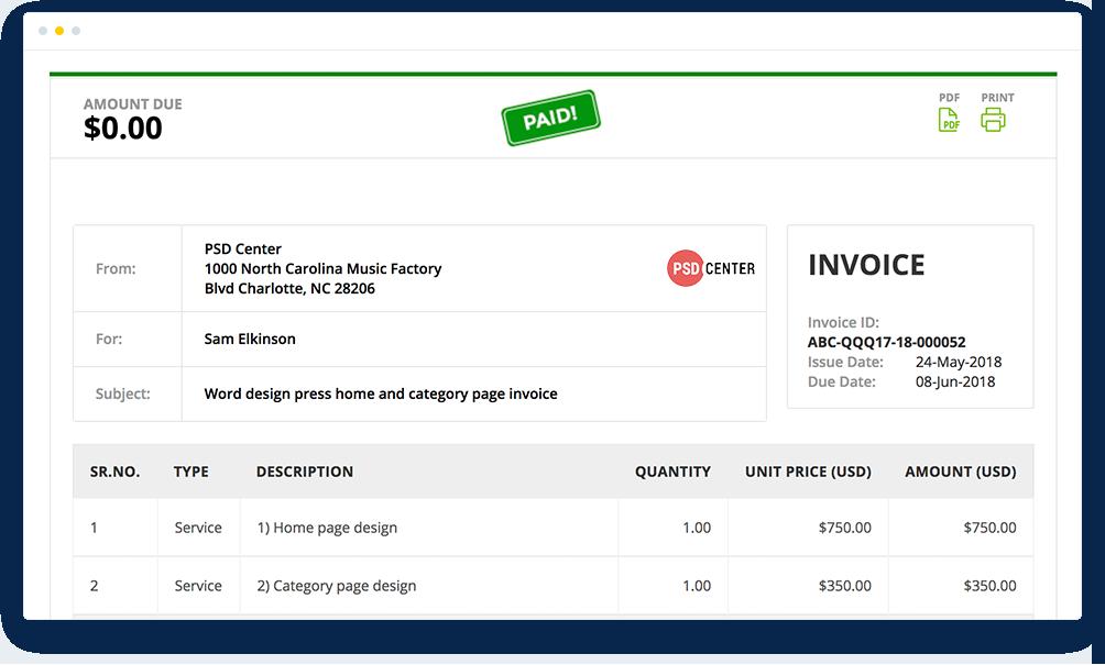 Creating Invoice Online Made Super Easy With MinterAppcom - Prepare invoice online