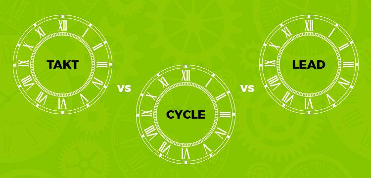 Takt Time Vs Cycle Time Vs Lead Time